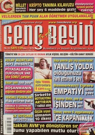 Genç Beyin Dergisi Sayı 129