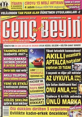 Genç Beyin Dergisi Sayı 130