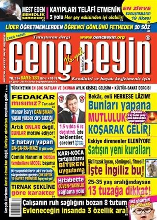 Genç Beyin Dergisi Sayı 131