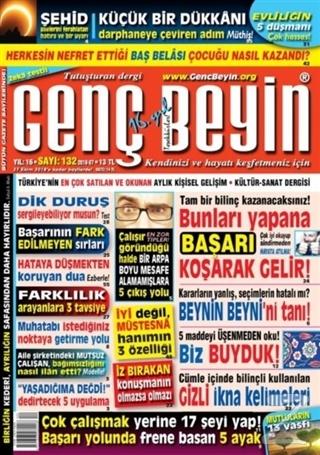 Genç Beyin Dergisi Sayı 132