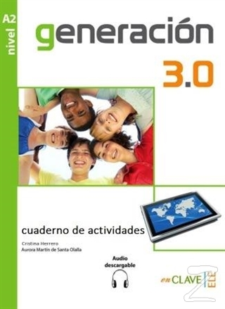 Generacion 3.0 A2 Cuaderno de Actividades (Çalışma Kitabı) İspanyolca Orta-Alt Seviye