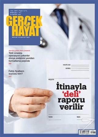 Gerçek Hayat Dergisi Sayı: 1072 Ekim 2021 Kolektif