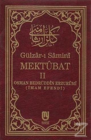 Gülzar-ı Samini Mektubat 2 (Ciltli)