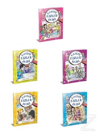 Hafiye Kızlar Ekibi 5 Kitap Takım