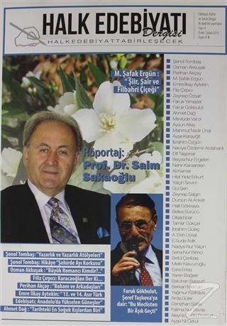 Halk Edebiyatı Dergisi Sayı : 4 / Ocak-Şubat 2015