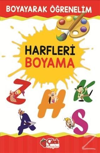 Harfleri Boyama