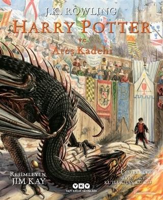 Harry Potter ve Ateş Kadehi 4 (Resimli Özel Baskı) (Ciltli)