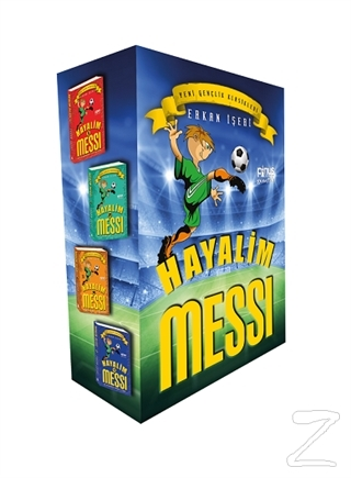 Hayalim Messi (4 Kitap Set)