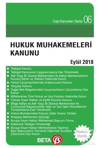 Hukuk Muhakemeleri Kanunu (Eylül 2018)