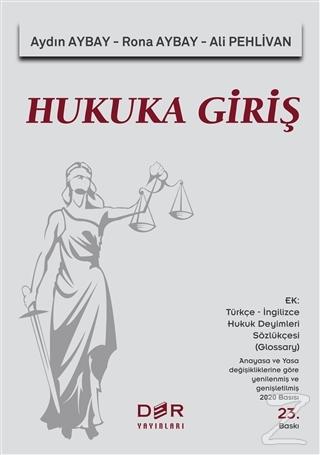 Hukuka Giriş Aydın Aybay