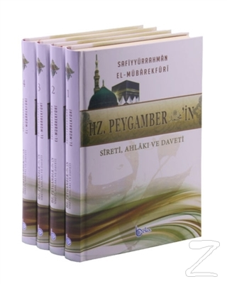 Hz. Peygamberin Sireti, Ahlakı ve Daveti (4 Kitap Takım) (Ciltli)