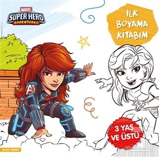 İlk Boyama Kitabım Black Widow - Marvel Super Hero Adventures