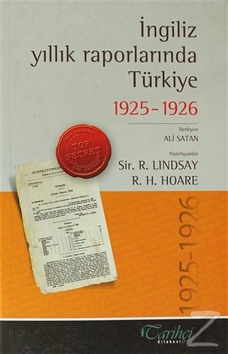 İngiliz Yıllık Raporlarında Türkiye