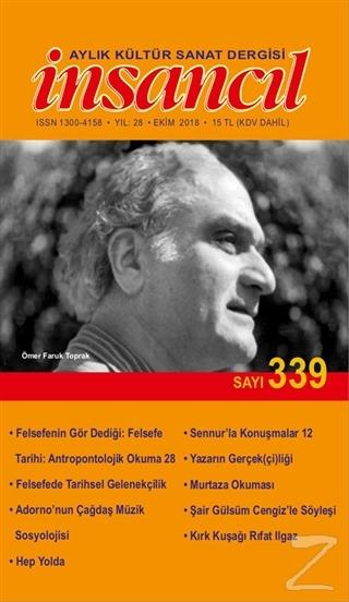 İnsancıl Aylık Kültür Sanat Dergisi Sayı: 339 Ekim 2018
