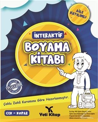 İnteraktif Boyama Kitabı 1