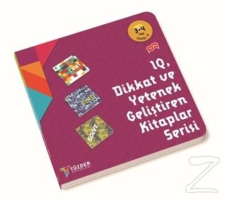 IQ Dikkat ve Yetenek Geliştiren Kitaplar Serisi 3-4 Yaş Level 2 (3 Kitap Takım)
