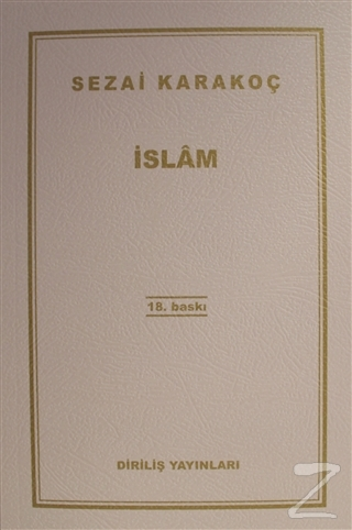 İslam - %28 indirimli  - Sezai Karakoç - Diriliş Yayınları  - İslam -