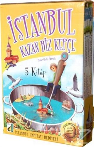 İstanbul Kazan Biz Kepçe (5 Kitap Takım)