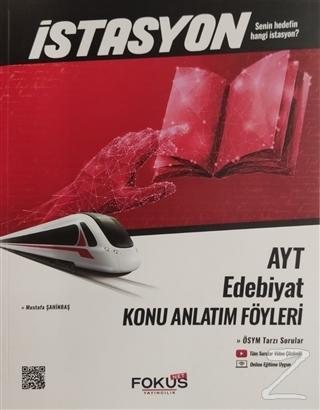 İstasyon AYT Edebiyat Konu Anlatım Föyleri