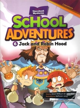 Jack and Robin Hood +CD (School Adventures 2)
