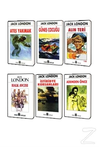 Jack London Klasikleri 6 Kitap Set 3