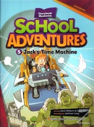 Jack's Time Machine +CD (School Adventures 2)