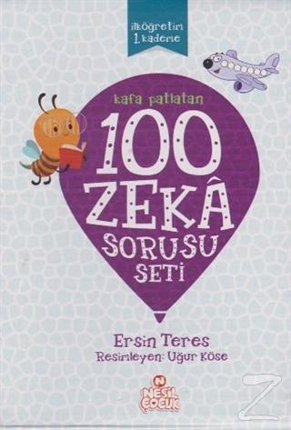 Kafa Patlatan 100 Zeka Sorusu Seti (5 Kitap Set)