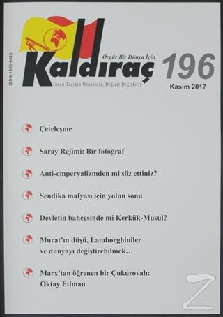 Kaldıraç Dergisi Sayı: 196 Kasım 2017