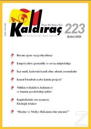 Kaldıraç Dergisi Sayı: 223 Şubat 2020