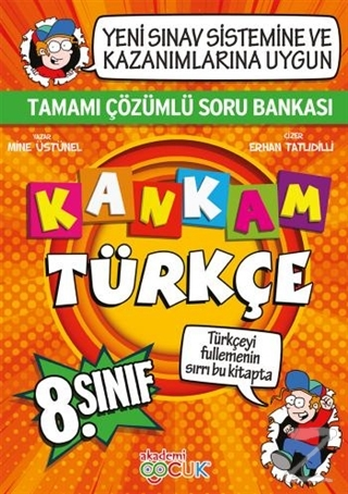 Kankam 8. Sınıf Türkçe Tamamı Çözümlü Soru Bankası
