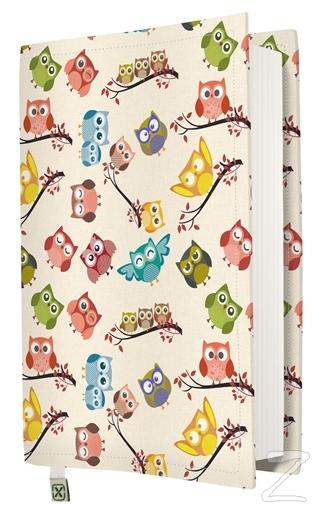 Kapax Kitap Kılıfı Baykuş XL