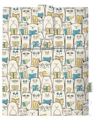 Kapax Mona Kitap Kılıfı Okuyan Kedi-158