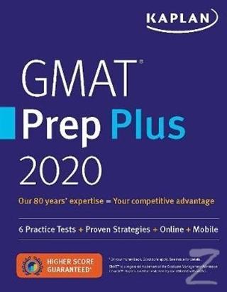 Kaplan GMAT Prep Plus 2020