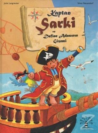 Kaptan Şarki ve Define Adasının Gizemi (Ciltli)
