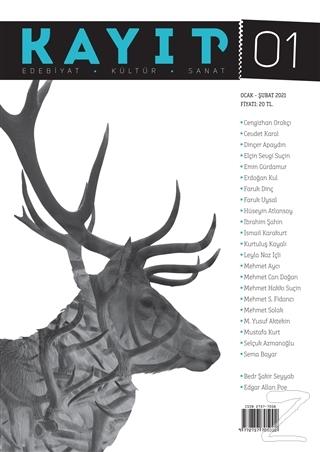 Kayıp Edebiyat Kültür ve Sanat Dergisi Sayı: 1 Ocak - Şubat 2021