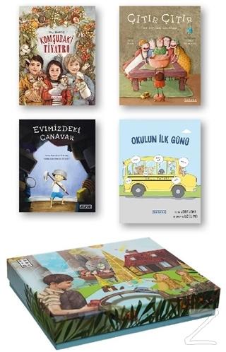 Ketebe Çocuk Kutulu Set 1 (4 Kitap Takım) (Ciltli) Kolektif