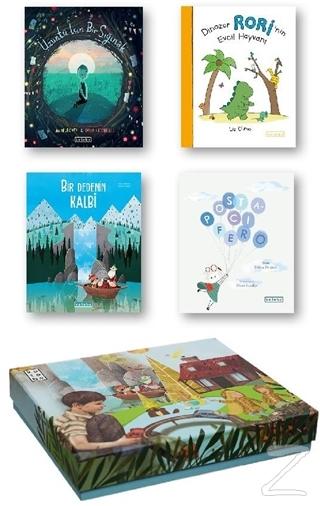 Ketebe Çocuk Kutulu Set 2 (4 Kitap Takım) (Ciltli) Kolektif