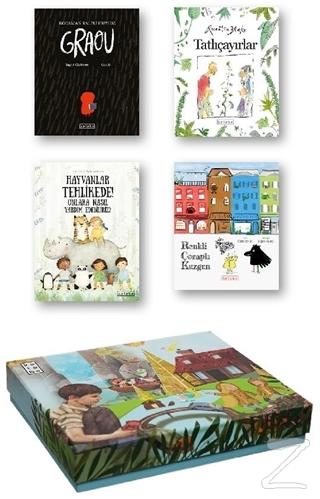 Ketebe Çocuk Kutulu Set 3 (4 Kitap Takım) (Ciltli) Kolektif