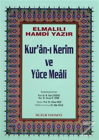 Küçük Boy Kur'an-ı Kerim ve Yüce Meali (Hafız Osman Hattı) (Ciltli)