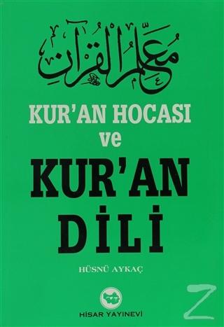 Kur'an Hocası ve Kur'an Dili