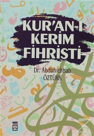 Kur'an-ı Kerim Fihristi (Ciltli)