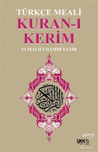 Kuran-ı Kerim Türkçe Meali