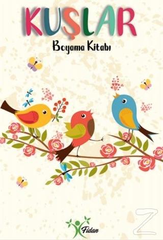 Kuşlar - Boyama Kitabı Kolektif