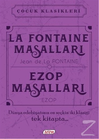 La Fontaine Masalları - Ezop Masalları (Ciltli)