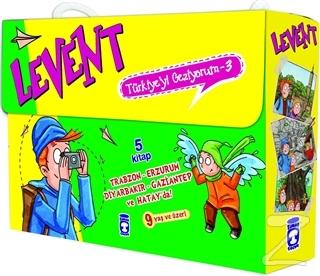 Levent Türkiye'yi Geziyorum - 3 (5 Kitap Set)
