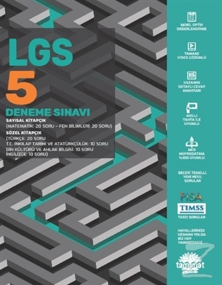 LGS 5 Deneme Sınavı Kolektif