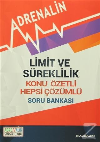 Limit ve Süreklilik - Konu Özetli - Hepsi Çözümlü Soru Bankası