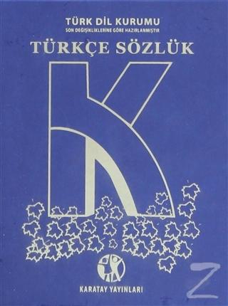 Lise Türkçe Sözlük (Büyük Boy)