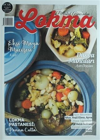 Lokma Aylık Yemek Dergisi Sayı: 26 Ocak 2017