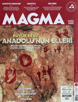 Magma Yeryüzü Dergisi Sayı: 35 Nisan 2018